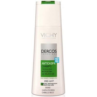 comprar Vichy VICHY DERCOS CHAMPU ANTICASPA CABELLO SECO 200ML