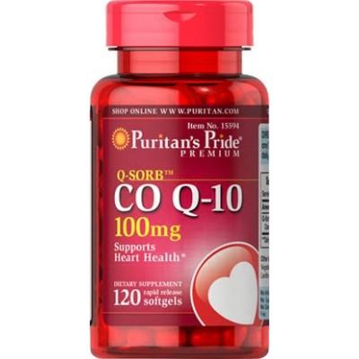 comprar PURITANS-PRIDE COENZIMA Q10 120 Caps 100 mg (COENZYMA)