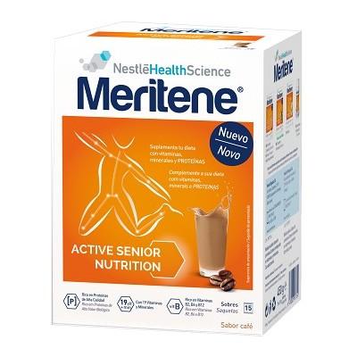 comprar MERITENE MERITENE CAFE DESCAFEINADO 15 SOBRES + 2