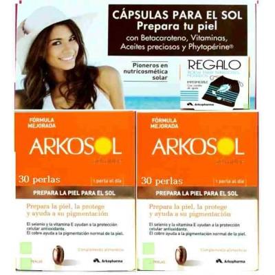 comprar Arkopharma ARKOSOL ADVANCE 60 caps +BOLSA BAÑADORES