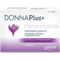 DONNAPLUS+ FLORA INTIMA 14 CAPSULAS