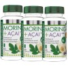 PACK 2U + 1U MORINGA 600 MG. + ACAI PRISMA NATURAL 60 COMP.