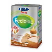 comprar Hero-Baby-Pedialac 8 CEREALES CON GALLETAS HERO BABY