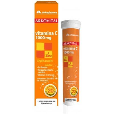 comprar Arkopharma ARKOVITAL VITAMINA C 1000 MG + ZINC 20 COMP.