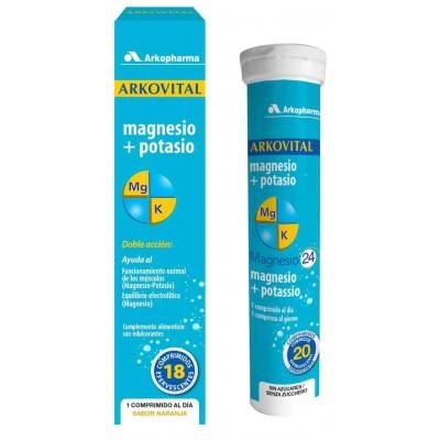 comprar Arkopharma ARKOVITAL MAGNESIO + POTASIO 18 COMP.
