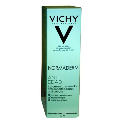 VICHY NORMADERM ANTI-EDAD 50 ML.