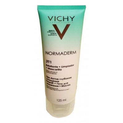 comprar Vichy VICHY NORMADERM 3 EN 1 EXFOLIANTE + LIMPIADOR +