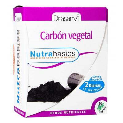 comprar Drasanvi CARBÓN ACTIVADO NUTRABASICS - 60 COMP. 600