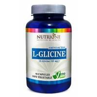 L-GLICINA (L-GLICINE) 500 MG 90 CAPSULAS NUTRIONE