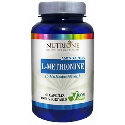 L-METIONINA (L-METHIONINE) 500 MG 90 CAPSULAS NUTRIONE