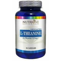 L-TEANINA (L-THEANINE) 250 MG. 60 CAPSULAS NUTRIONE