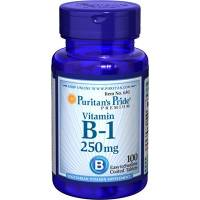 VITAMINA B-1 250 MG. 100 COMPRIMIDOS PURITAN