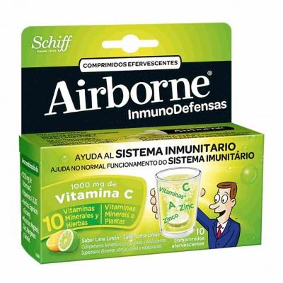 comprar AIRBORNE AIRBORNE INMUNODEFENSAS LIMA LIMON 10 UNIDS