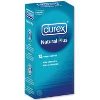 comprar DUREX PRESERVATIVOS DUREX NATURAL PLUS 12 UNIDADES