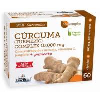 CURCUMA COMPLEX CON JENGIBRE Y PIMIENTA 60 CAPS NATURE ESSENTIAL