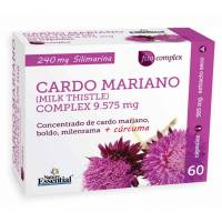 CARDO MARIANO COMPLEX CON CURCUMA 60 CAPSULAS NATURE ESSENTIAL