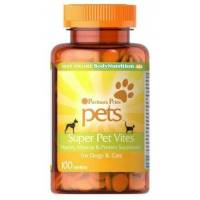 comprar NOW-FOODS SUPER PET VITES 100 TABLETAS PERROS Y GATOS