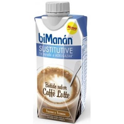 comprar Bimanan BATIDO CAFFE LATTE 33CL BIMANAN