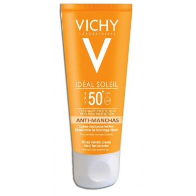 comprar Vichy IDEAL SOLEIL SPF 50 50ML VICHY ANTIMANCHAS