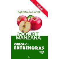 COMPRAR BARRITAS DE YOGURT Y MANZANA OBEGRASS ENTREHORAS FIBRA 5 U.