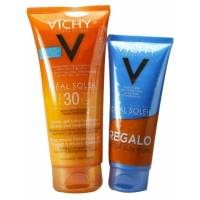 LECHE-GEL ULTRA-FUNDENTE SPF 30 IDEAL SOLEIL VICHY 200 ML MAS AFTER SUN 100 ML