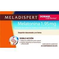 MELADISPERT DORMIR Y EN FORMA MELATONINA 1,95MG 30 COMPRIMIDOS