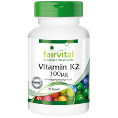 comprar FAIRVITAL VITAMINA K2 100µg 90 CAPSULAS FAIRVITAL