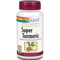 SUPER TURMERIC 30 CAPSULAS SOLARAY - CURCUMA