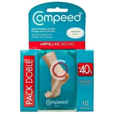 comprar COMPEED PACK 2U APOSITOS AMPOLLAS MEDIANAS 10 UNDS.