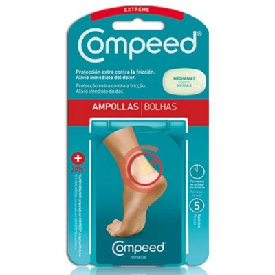 comprar COMPEED APOSITOS AMPOLLAS EXTREME 5 UNDS. COMPEED
