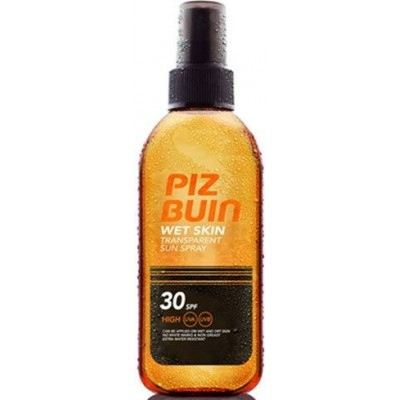 comprar PIZ-BUIN WET SKIN SPRAY SOLAR TRANSPARENTE SPF 30 150ML
