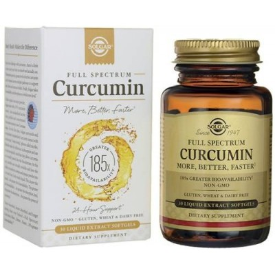 comprar SOLGAR CURCUMIN FULL SPECTRUM 30 SOFTGELS SOLGAR