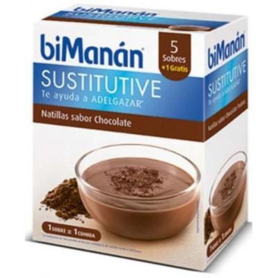 comprar Bimanan BIMANAN NATILLAS CHOCOLATE 5 SOBRES + 1 SOBRE