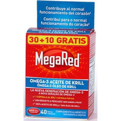 comprar MEGARED KRILL MEGARED 30 CAPSULAS + 10 CAPS. 500 MG