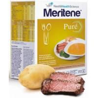MERITENE PURE TERNERA CON PATATAS Y VERDURAS 6 SOBRES