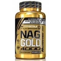 NAG-N-ACETIL GLUTAMINA 4000 XTREM GOLD 120 CAPSULAS