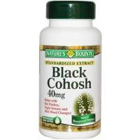 BLACK COHOSH 40MG 90 CAPSULAS PURITAN