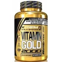 VITAMIN GOLD 2000 XTREM - 120 CAPSULAS