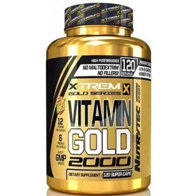 comprar XTREM VITAMIN GOLD 2000 XTREM - 120 CAPSULAS