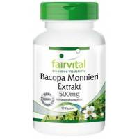BACOPA 90 CAPS EXTRACTO 500 MG FAIRVITAL 82,6 BACOSIDE
