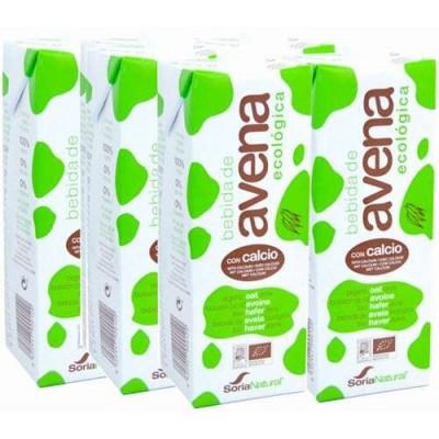 comprar SORIA NATURAL PACK 6U BEBIDA AVENA CALCIO 1 L SORIA