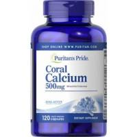 CORAL CALCIO 500 MG 120 CAPSULAS PURITAN