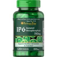 IP6 INOSITOL 120 CAPSULAS 510 MG HEXAFOSFATO PURITAN PRIDE