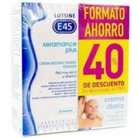 comprar E45 XERAMANCE PLUS CREMA REESTRUCTURANTE 2X100ML LUTSINE
