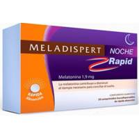 MELADISPERT NOCHE RAPID 1.9MG 20 COMPRIMIDOS