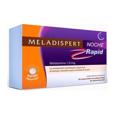 comprar Meladispert MELADISPERT NOCHE RAPID 1.9MG 20 COMPRIMIDOS