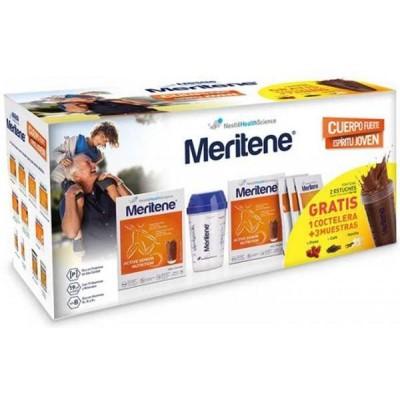 comprar MERITENE PACK 2U. MERITENE CHOCOLATE + COCTELERA + 3