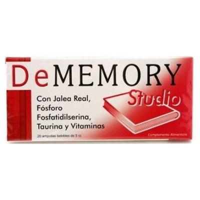 comprar DeMEMORY DEMEMORY STUDIO 20 AMPOLLAS