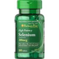 SELENIO ABSORBIBLE 200MCG 100 TABLETAS PURITAN (SELENIUM)