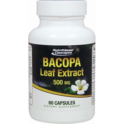 comprar NUTRIONE BACOPA 500 MG EXTRACTO 60 CAPSULAS CONCEPTS